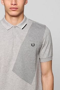 Fred Perry Patch Polo Shirt