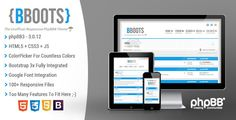 BBOOTS - #Responsive Premium Template #html5 #css3 #phpBB 3.1 #PhpBBForums via @medosadvert