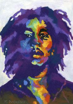 ☆ Bob Marley :¦: By Stephen Anderson ☆