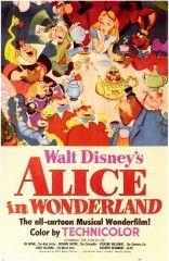 """Un """"buon non compleanno"""" a tutti voi! Il 26 luglio 1951 usciva per la prima volta sul grande schermo statunitense, il film d'animazione Disney """"Alice nel Paese delle Meraviglie""""."""