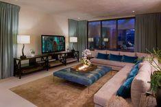 Diseño interior http://www.arquitexs.com/2014/12/Decoracion-Blue-Jay-Residence-Hollywood-Hills.html