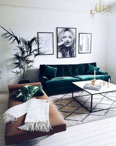 20 Elegant Apartment Living Room Layout Ideas - Page 13 of 20 Living Room Green, Living Room Modern, Home Living Room, Apartment Living, Living Room Designs, Apartment Kitchen, Apartment Furniture, Cozy Living, Minimalist Home Decor