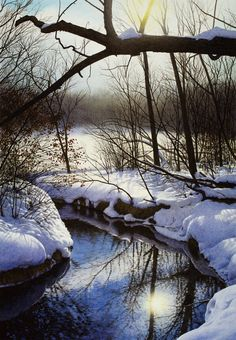 Watercolor painting by artist Steven Kozar