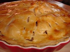 Amerikai almás pite Mashed Potatoes, Panna Cotta, Cheesecake, Pie, Ethnic Recipes, Food, Whipped Potatoes, Torte, Dulce De Leche