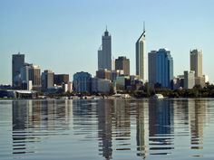 Perth is the capital and largest city of the Australian state of Western Australia and the fourth most populous city in Australia. The metr. Perth Western Australia, Australia Travel, Belize City, Belize Travel, Tourist Places, Travel Info, Tourism, Places To Visit, Skyline