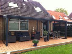 Pallazzo Veranda Een feestje een BBQ bij deze gelegenheden geeft een veranda aan uw huis een extra dimensie. www.denkit.nl