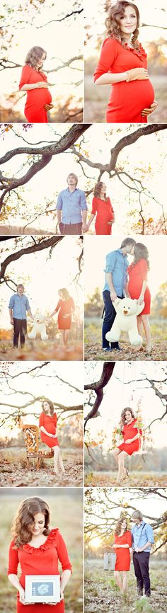 A Miracle of Love - Outdoor Maternity Session from Emm & Clau
