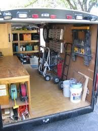 small enclosed tool trailers - Google Search