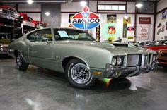 1972 Oldsmobile 442 Maintenance of old vehicles: the material for new cogs/casters/gears/pads could be cast polyamide which I (Cast polyamide) can produce