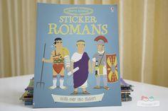 Sách Usborne Sticker Dressing Romans
