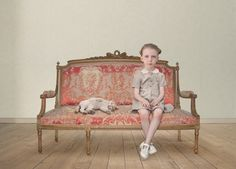 Unsettling fine art photographs of strange, lost children by Loretta Lux | Creative Boom