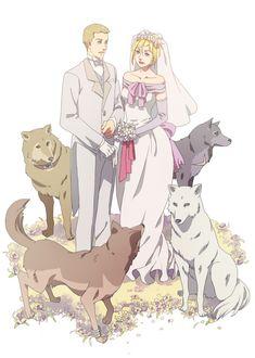 Tags: Anime, Fanart, Wolf's Rain, Pixiv, Kiba (Wolf's Rain)
