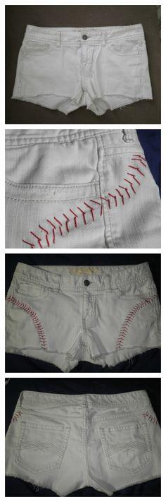 DIY Baseball Shorts