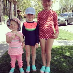 Fun Natives attached to some awfully adorable girls! Natives AND SaltWaters still available for summer enjoyment! #thechildrenshourslc #summerdays #lovinglife @elizageniel || The Children's Hour Bookstore & Boutique || Clothing  Gifts  Shoes || 898 South 900 East || Salt Lake City Utah || 801.359.4150 || childrenshourbookstore.com