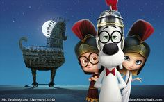 Mr. Peabody and Sherman in ancient Greece.