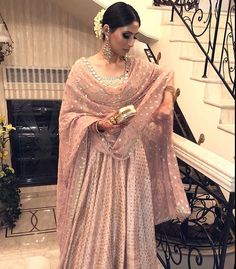 Pastel pink anarkali perfect for summer weddings 💗 _______________________________________________________ Looking to Create or customize your bridal outfit or any show stopping party wear outfit. Indian Attire, Indian Ethnic Wear, Ethnic Suit, Pakistani Bridal Dresses, Indian Dresses, Bridal Lehenga, Indian Wedding Outfits, Indian Outfits, Ethnic Fashion