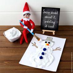 Most up-to-date Photographs Astonishing Snow Paint Ideas Scout Elf Ideas Glue Crafts, Decor Crafts, Elf Auf Dem Regal, Der Elf, Elf Pets, Awesome Elf On The Shelf Ideas, Elf Magic, Elf On The Self, Christmas Elf