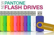 Pantone USB Flash Drives ...NEED ONE FOR WORK... stylish & you can get your name engraved for free!