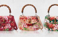 Gucci Bamboo Blooms Handbags Resort 2016