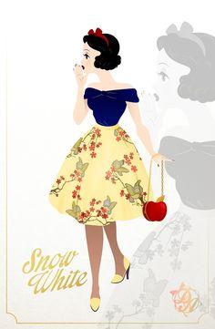 """dearestantoine: """"Snow White by DearestAntoine """""""