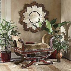 Country Door 073999 Sunburst Mirror