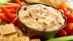 Get inspired with this authentic, flavorful Wish-Bone® recipe: Horseradish Bacon Dip