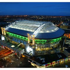 Home stadium of football club Ajax with a retractable roof, formerly known as Amsterdam Arena. Amsterdam Things To Do In, I Amsterdam, Amsterdam Travel, Soccer Stadium, Football Stadiums, Stadium Tour, Football Mondial, Stadium Wallpaper, Afc Ajax