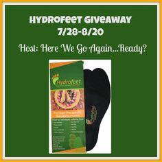 Ogitchida Kwe's Book Blog : Hydrofeet Giveaway!