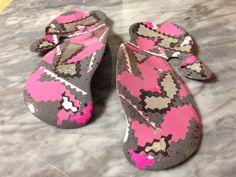 Where is spring? In your shoes! Graceyfeet Sole Commander 2014: Pink, grey, silver Digital Street Camo: www.graceyfeet.com  #graceyfeetdesigns #FB Palm Beach Sandals, Your Shoes, Pink Grey, Camo, Baby Shoes, Street, Digital, Spring, Kids