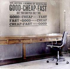 54 Typographic Decor Ideas - From Bold Typographic Illuminators to Inspirational Decor Decals (TOPLIST)