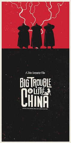 Typography - Big Trouble in Little China