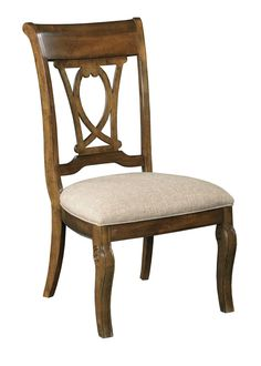 Portolone Harp Back Side Chair By Kincaid Furniture At Belfort Kincaidfurniture