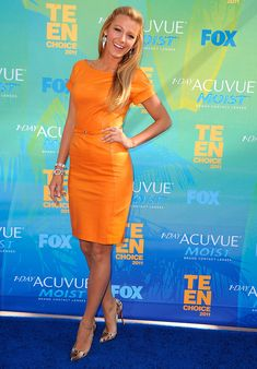Blake Lively in 2011 Teen Choice Awards, Gibson Amphitheatre in Universal City. Gucci look.