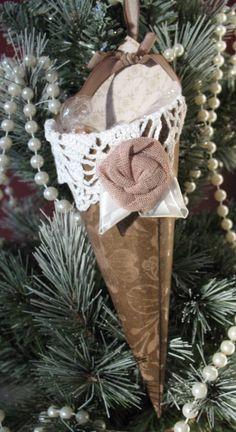 paper cone ornaments