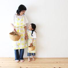 型紙いらず!簡単こどもエプロンの作り方   nunocoto Apron, Summer Dresses, Sewing, How To Make, Crafts, Craft Ideas, Fashion, Moda, Dressmaking
