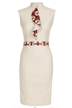 african fashion tina lobondi pencil dress - Loved this piece so much African Inspired Fashion, African Print Fashion, Africa Fashion, Ankara Fashion, African Attire, African Wear, African Women, African Style, African Print Dresses
