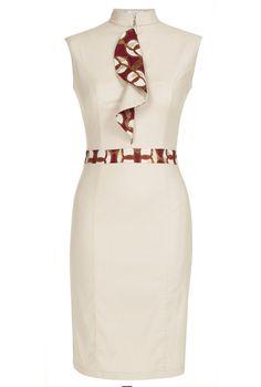 KISUA | Shop African Fashion Online - Cotton pencil dress