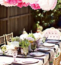 VENDOR CREDITS:    – Party Styling, Paper Goods, & Flowers: Paiges of Style  – Photograph: Nicole Benitez Photography  – Vintage Rentals: Pow Wow Vintage Rentals  – Cake Pops: KCreative  – Sugar Cookies: Baked  – Edible Peony: Modern Luxe Events