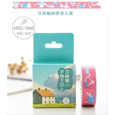 Kawaii Washi Masking Tape Craft Sticker Luminous Totoro 6M