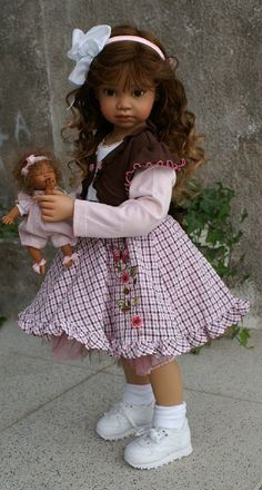 ~ so sweet! Reborn Toddler Dolls, Child Doll, Reborn Dolls, Reborn Babies, Pretty Dolls, Cute Dolls, Beautiful Dolls, Lifelike Dolls, Realistic Dolls