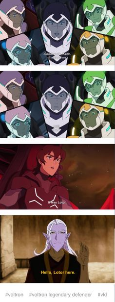 Is Lotor really the Zuko in this show