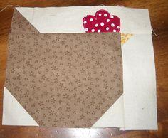 Chicken Quilt Block Tutorial by Sew Inspired