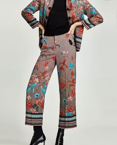 Shorts Sale, Printed Trousers, Love T Shirt, Zara United States, Harem Pants, Women's Pants, Pants For Women, Girly, How To Wear
