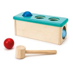 Banc à marteler Ateliers Montessori Oxybul pour enfant de 1 an à 2 ans - Oxybul éveil et jeux
