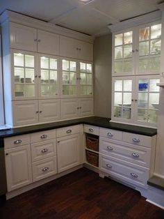 1840 Farmhouse Kitchen, IKEA style -- Lidingo and Tidaholm  remove two drawers and insert baskets instead to cut costs
