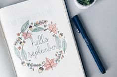 A look at how I set up my bullet journal for September 2016. Check out my blog for more bullet journal inspiration and layouts.