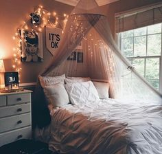 Imagem de room, bedroom, and light
