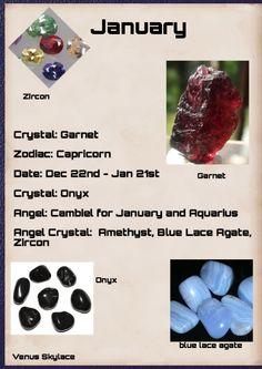 #January #Gemstone #VenusSkylace