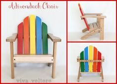 SimpleAmericanStyle Kid's Adirondack Chair Review and Giveaway!