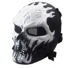 >> Click to Buy << Skull Mask Chiefs M06 Ghost Camo Hunting Tactical Outdoor Military Mask for Cs Wargame Paintball Protective Skull Full Face Mask #Affiliate